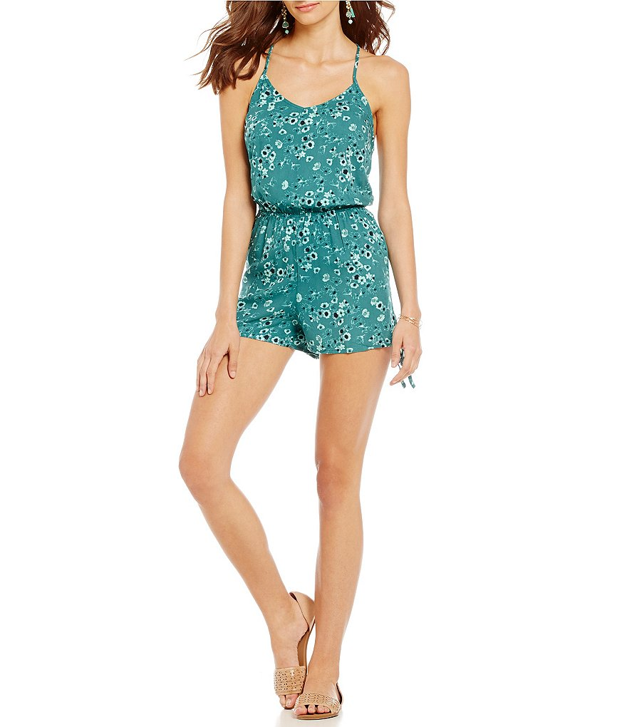 O´Neill Cadence Floral Print Romper