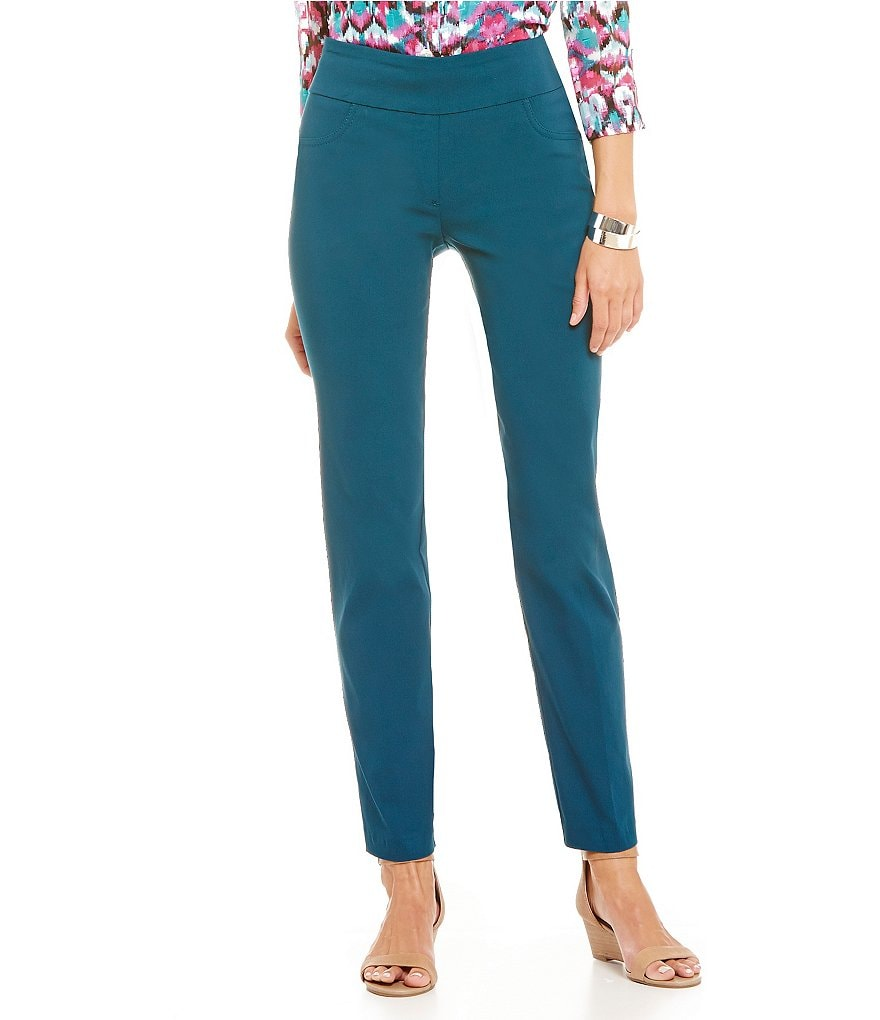Ruby Rd. Petites Pull-On Solar Millennium Pant