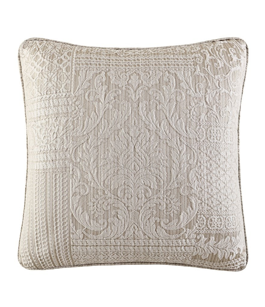 J. Queen New York Wilmington Patchwork Jacquard Square Pillow