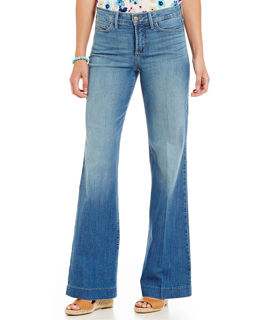 NYDJ Addison Wide-Leg Jeans