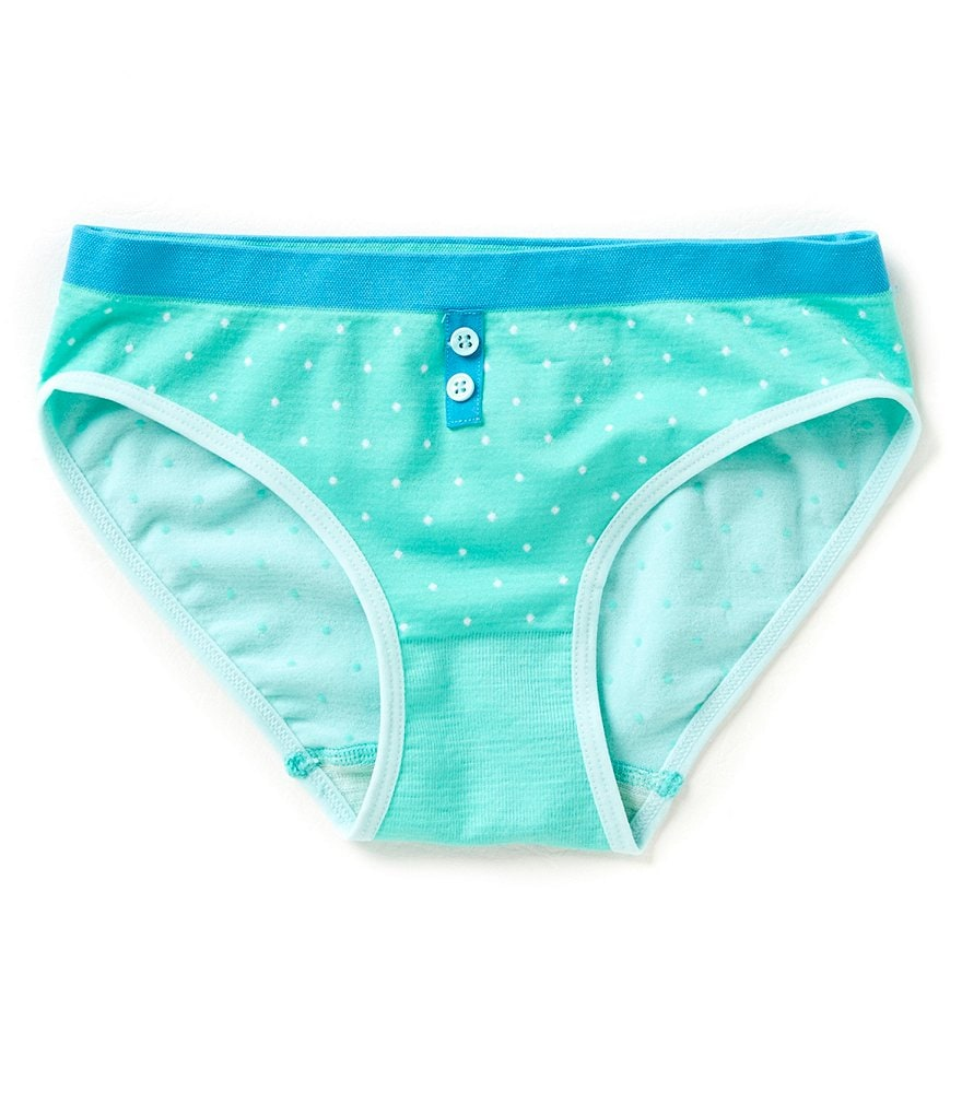 GB Girls Big Girls 7-16 Seamless Pointelle Hipster Underwear