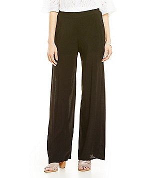 M Made In Italy Soft Wide Leg Pants