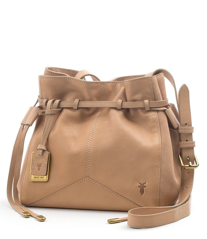 Frye Sophie Leather Cross-Body Bag