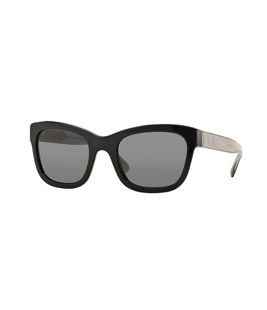Burberry Solid Square Sunglasses