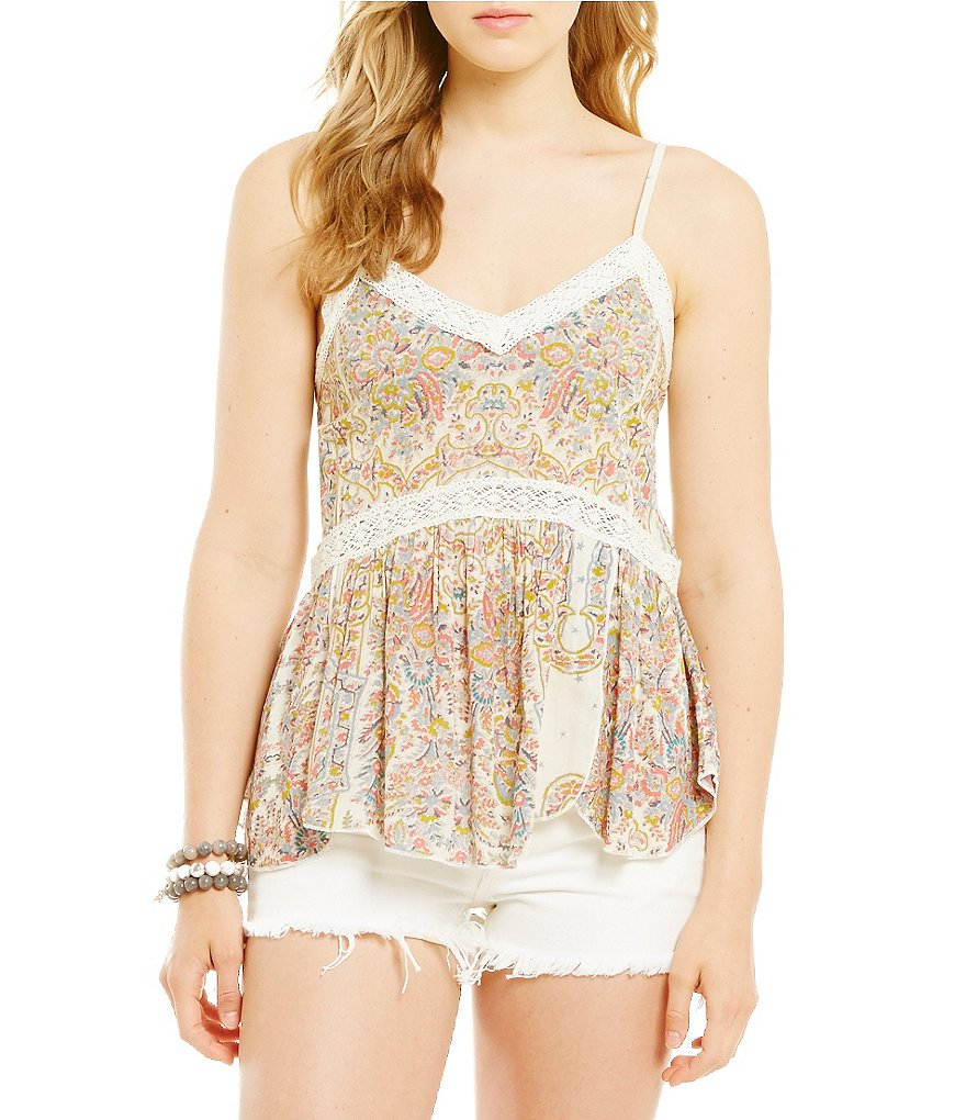 O´Neill Cricket Printed Lace Cami