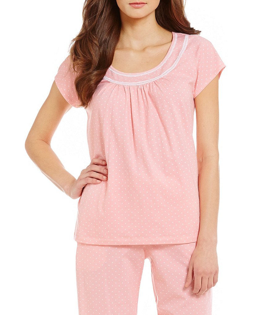 Sleep Sense Dot Print Sleep Top