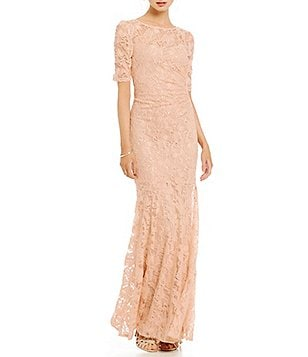 Decode 1.8 Elbow Sleeve Lace Gown
