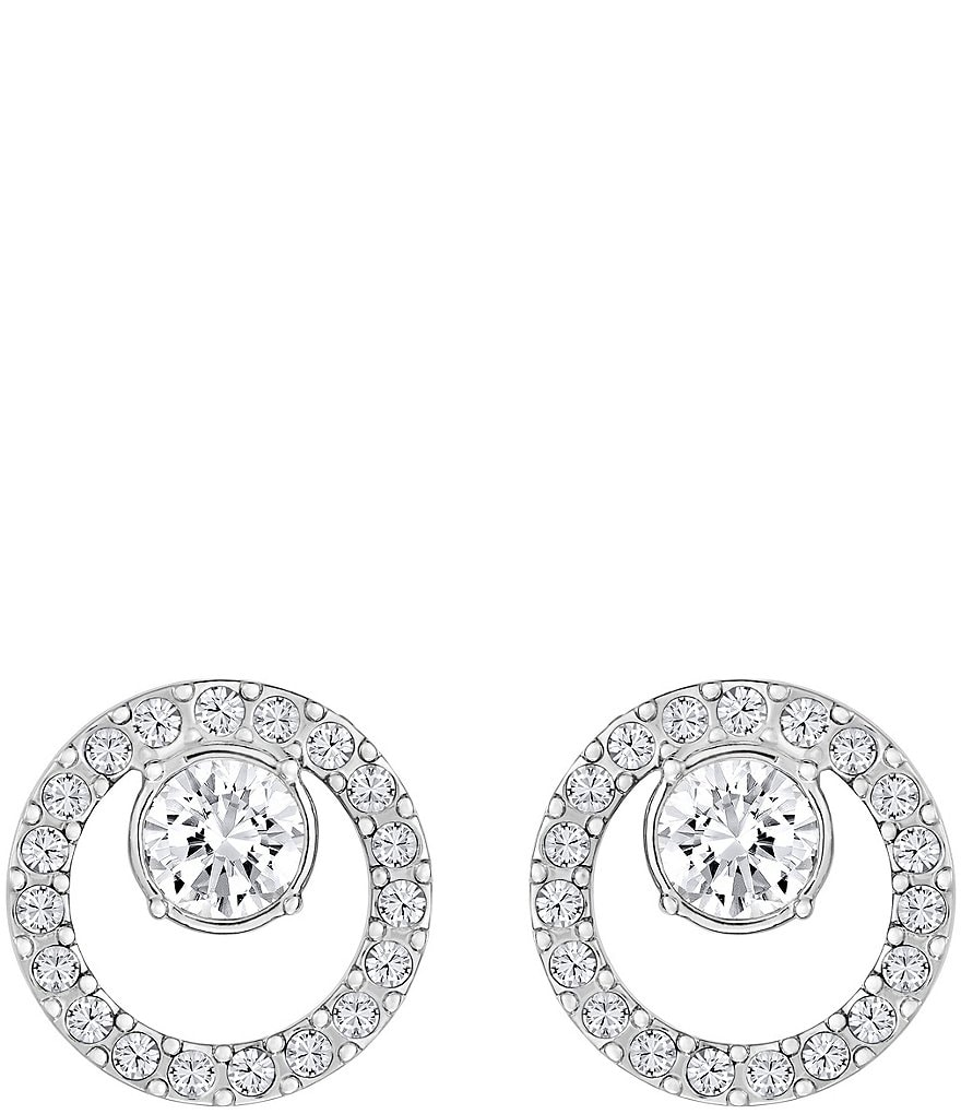 Swarovski Creativity Circle Stud Earrings