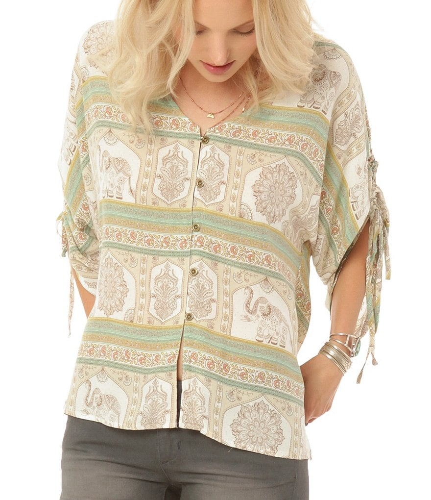 O´Neill Bex Printed Woven Top