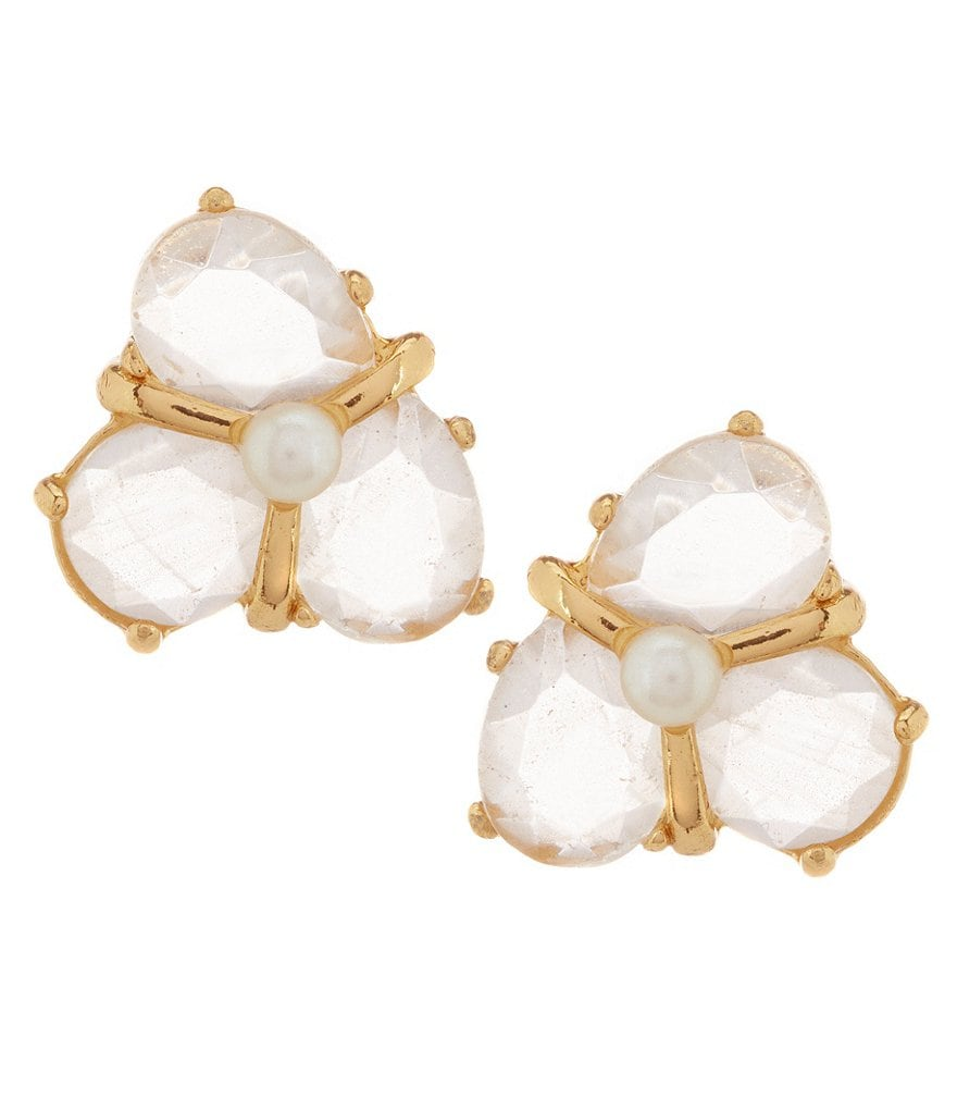 kate spade new york Crystal Cluster Stud Earrings