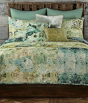 Poetic Wanderlust? by Tracy Porter Chloe Eclectic Mixed-Pattern Voile Quilt