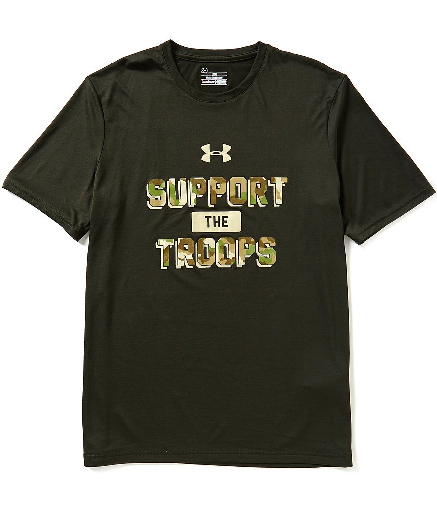 Under Armour Short-Sleeve Support The Troops Graphic Tee