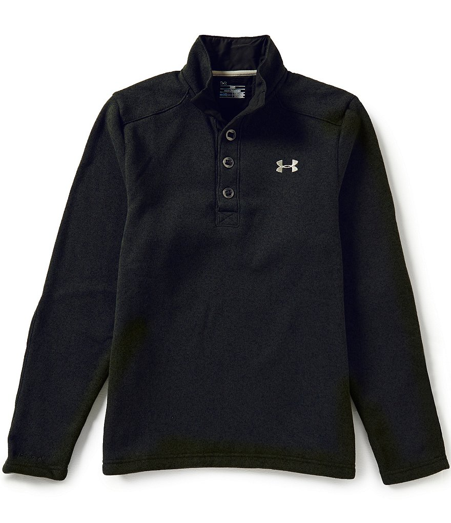 Under Armour Specialist Quarter-Placket Pullover