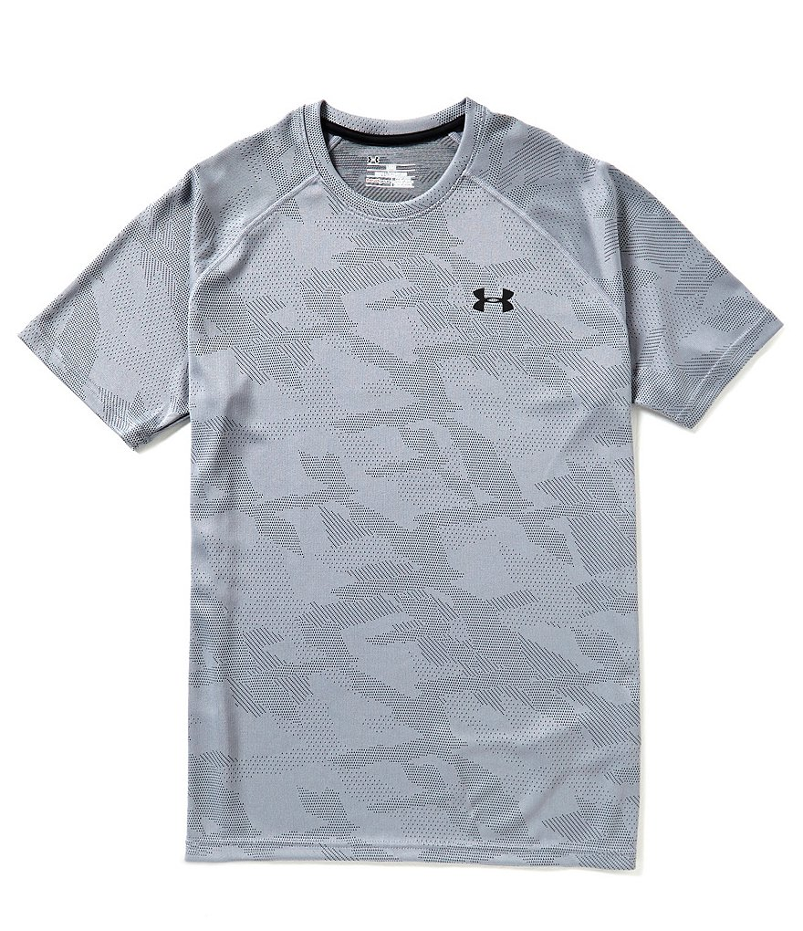 Under Armour Jacquard Short-Sleeve Tech Tee