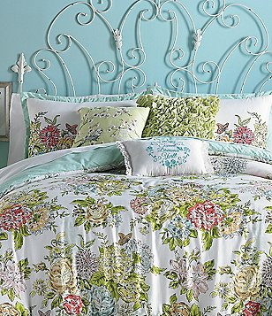 Jessica Simpson Elodie Overscale Floral Comforter Mini Set