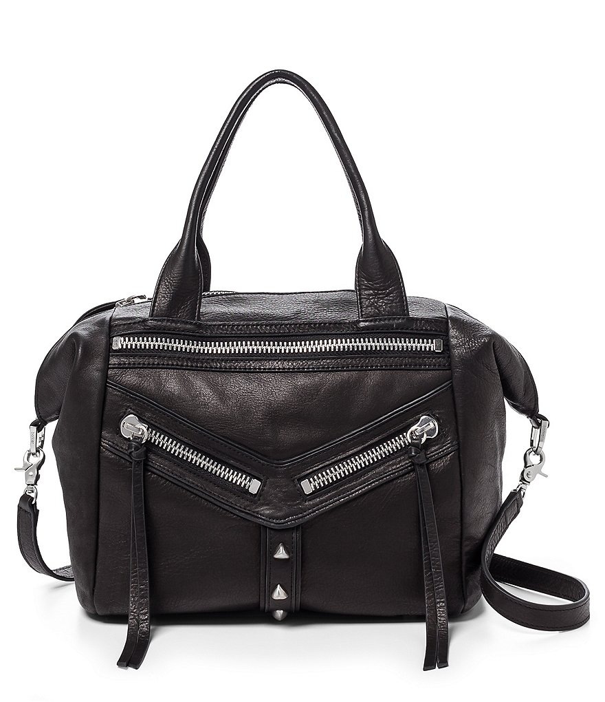 Botkier Trigger Leather Convertible Satchel