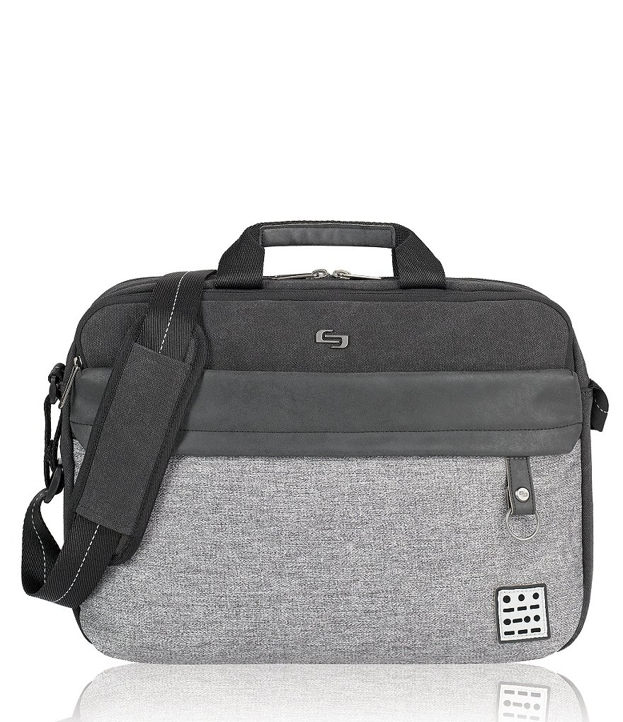 Solo Urban Code Color Block Padded Briefcase