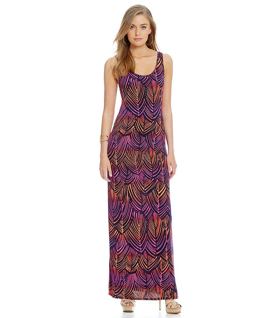 trina TRINA TURK Violina Sleeveless Maxi Dress