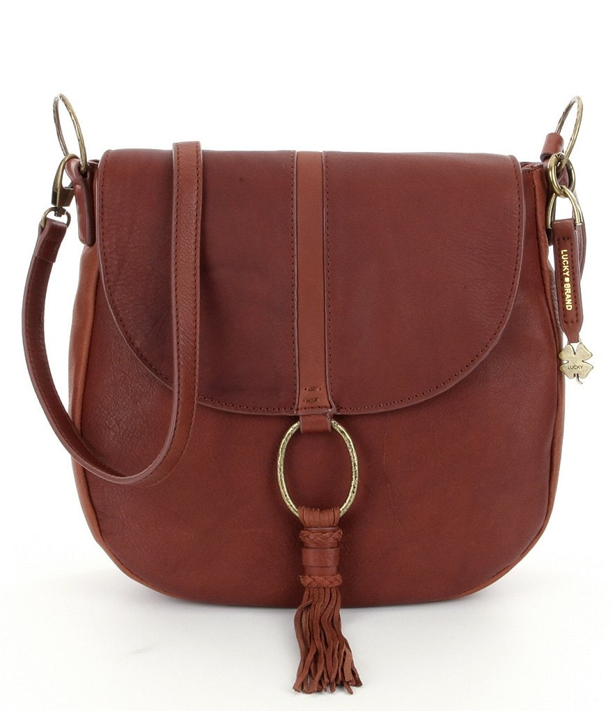 Lucky Brand Athena Convertible Saddle Bag