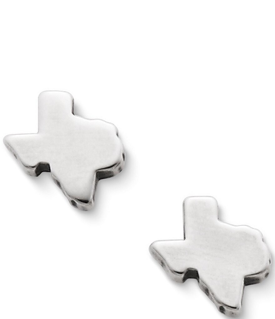 James Avery Tiny Texas Stud Earrings