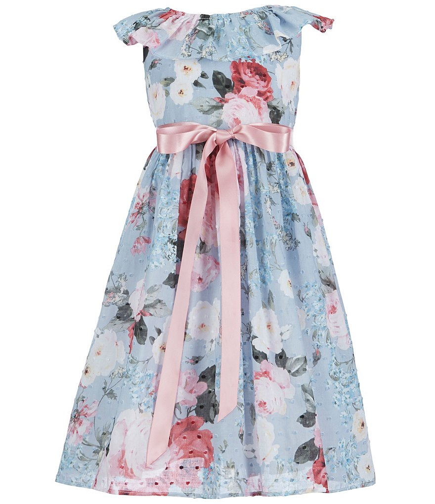 Laura Ashley London Little Girls 2T-6X Floral Dress