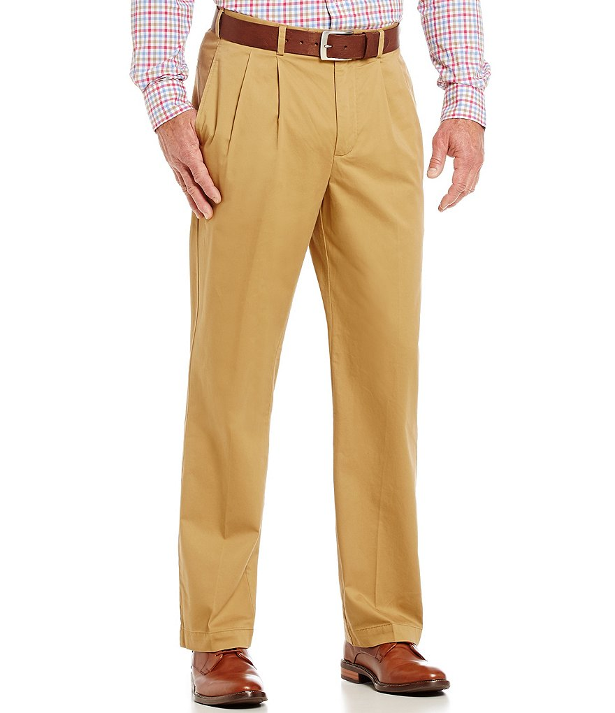 Cremieux Pleated Straight-Fit Office Pants