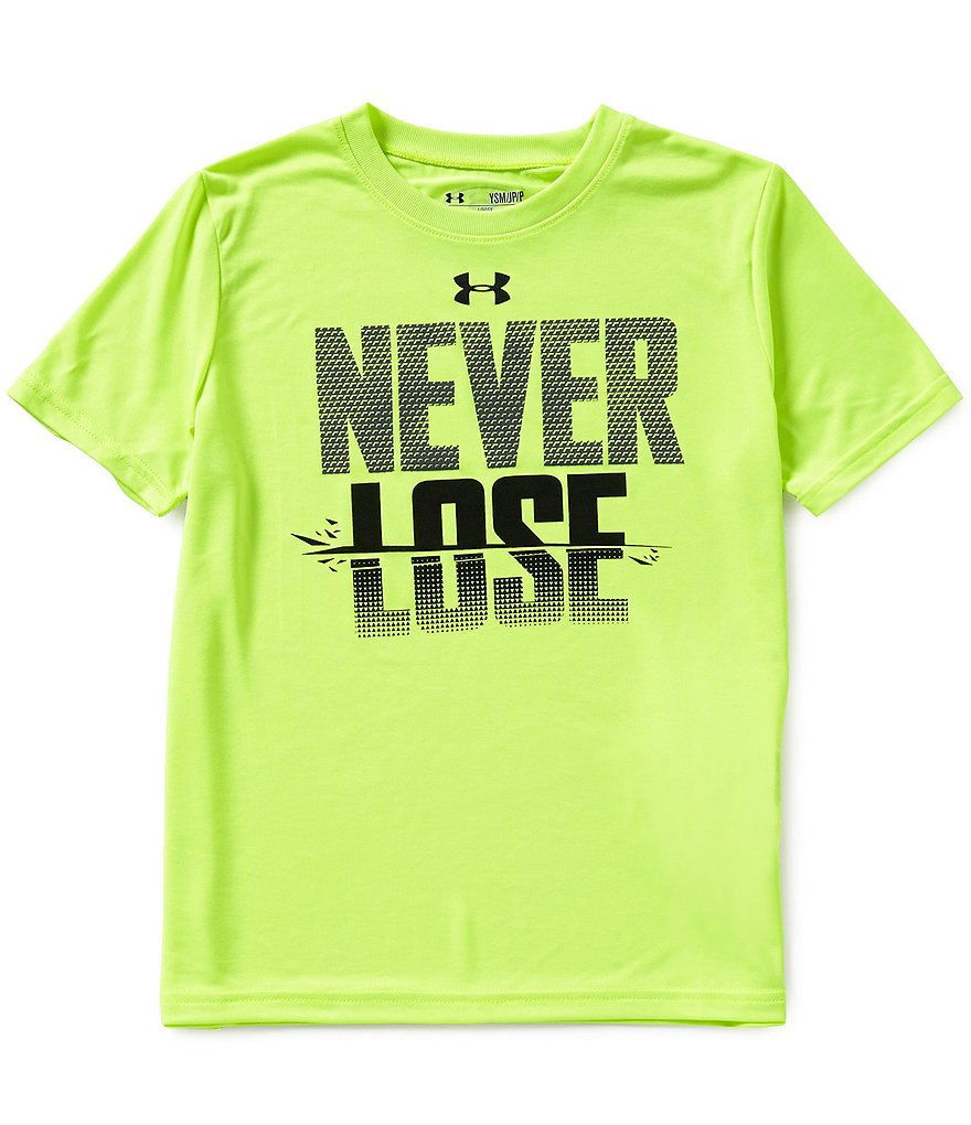 Under Armour 8-20 Never Lose Short-Sleeve Graphic Tee