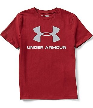Under Armour Big Boys 8-20 Sportstyle Logo Short-Sleeve Tee