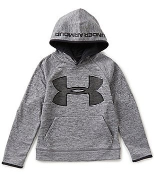 Under Armour 8-20 Armour Fleece Storm Twist Highlight Hoodie
