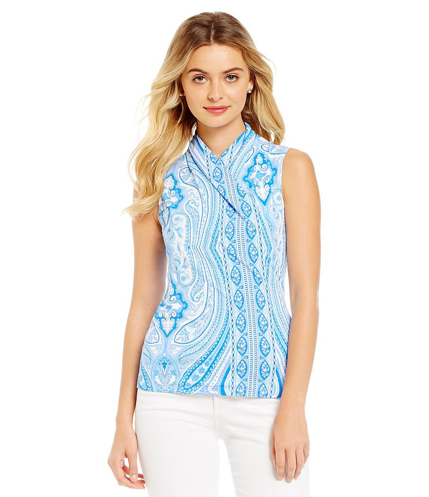 J. McLaughlin Sleeveless Gulf Top