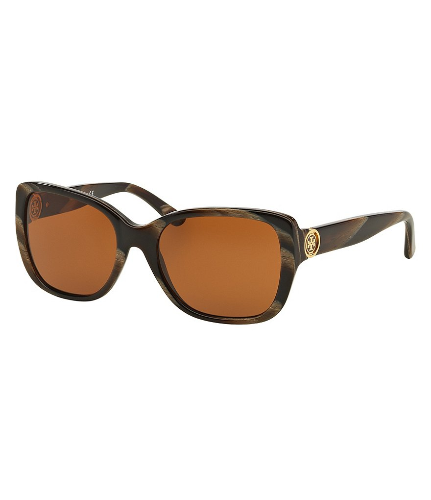 Tory Burch Classic Oversized Square Sunglasses