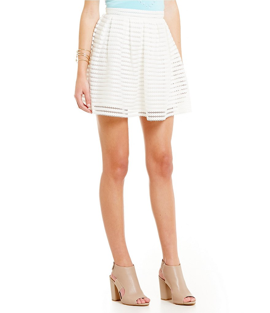 GB Textured Mesh A-line Skirt