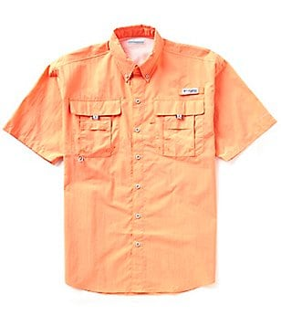 Columbia PFG Bahama II Solid Short-Sleeve Shirt