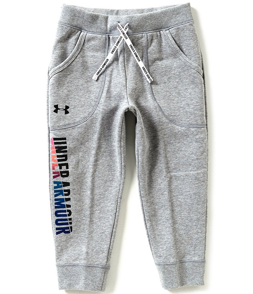 Under Armour Big Girls 7-16 Fleece Capri Pants