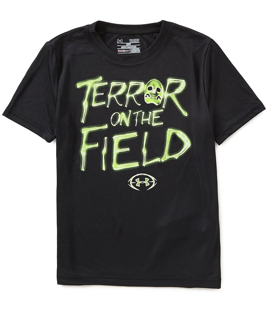 Under Armour Big Boys 8-20 Terror On The Field Short-Sleeve Graphic Tee