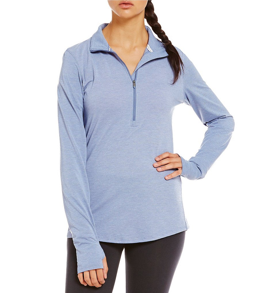 Under Armour Streaker Half-Zip Long Sleeve Top