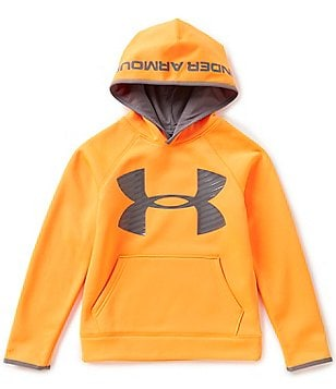 Under Armour Big Boys 8-20 Armour Fleece Storm Highlight Hoodie