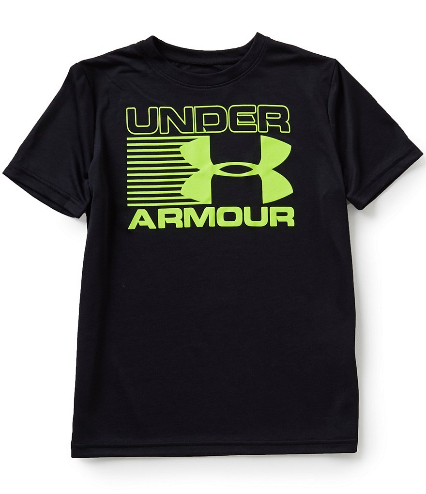 Under Armour Big Boys 8-20 Streak Logo Short-Sleeve Tee
