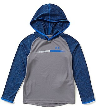 Under Armour Big Boys 8-20 UA Tech Prototype Color Block Hoodie