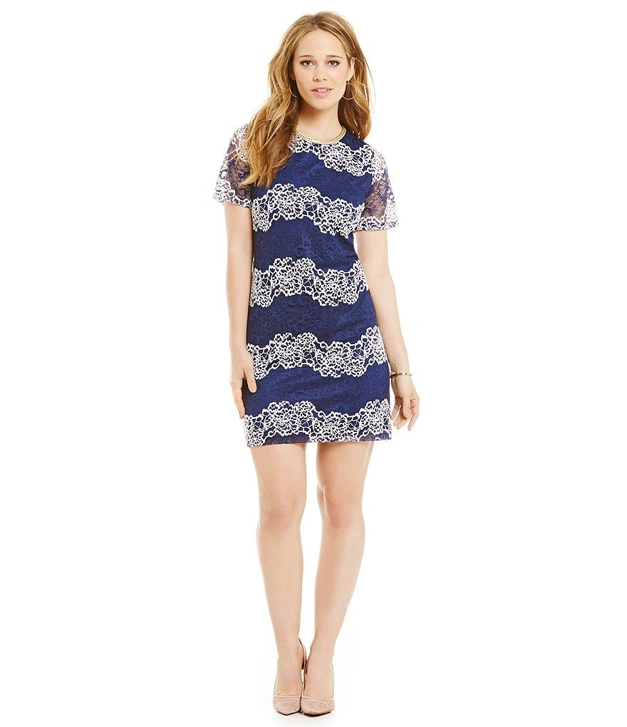 Jessica Simpson Lace T-Shirt Dress