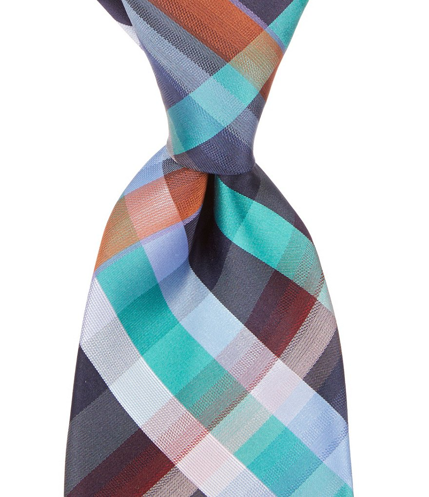 Murano Stick Traditional Plaid Tie
