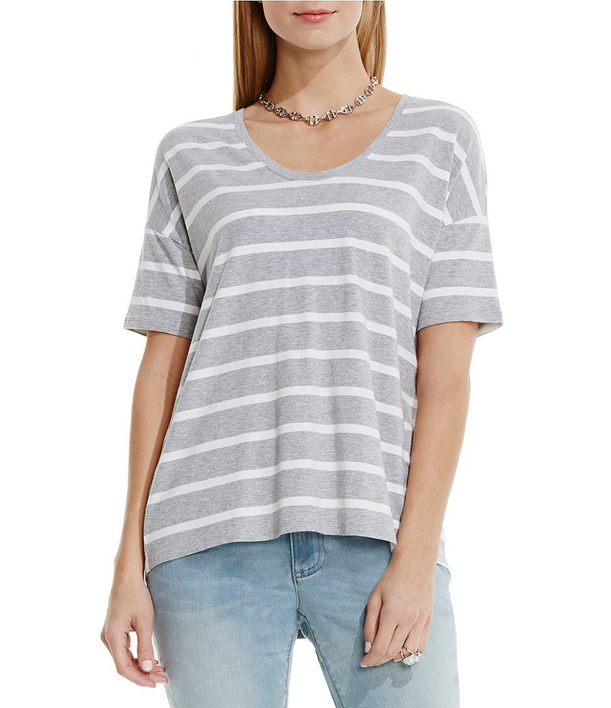 Two by Vince Camuto Convoy Stripe Top