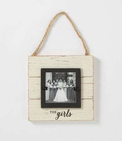 Wedding Gift Check Bounced : Mud Pie Wedding Collection The Girls Door Hanger Frame Dillards