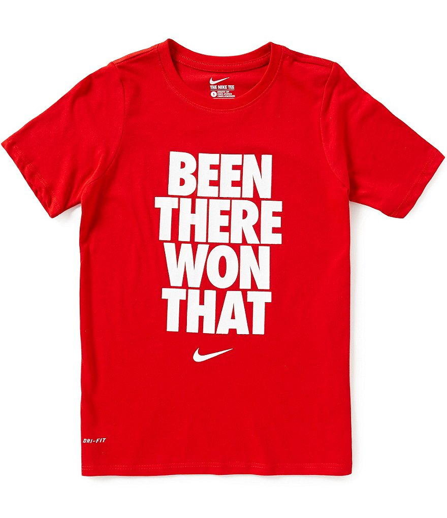 Nike Big Boys 8-20 Been There Won That Short-Sleeve Graphic Tee
