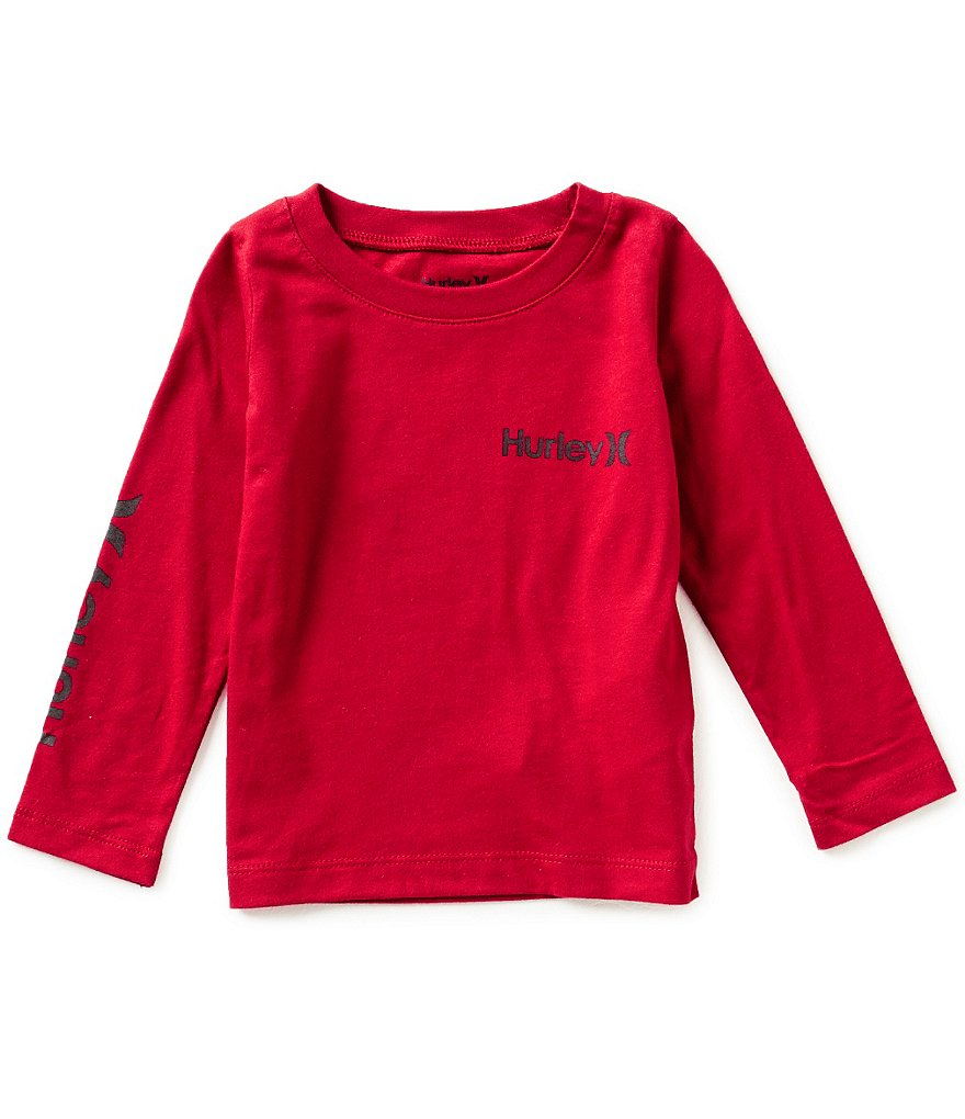 Hurley Little Boys 4-7 Vintage One And Only Long-Sleeve Tee