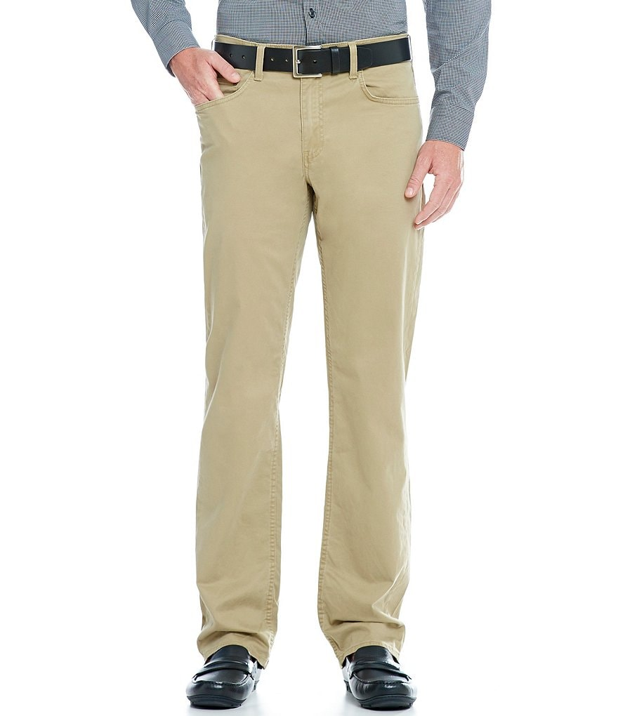 Murano Alex Modern Slim-Fit Flat-Front 5-Pocket Pants