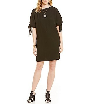 Vince Camuto Bow Tie Sleeve Dress