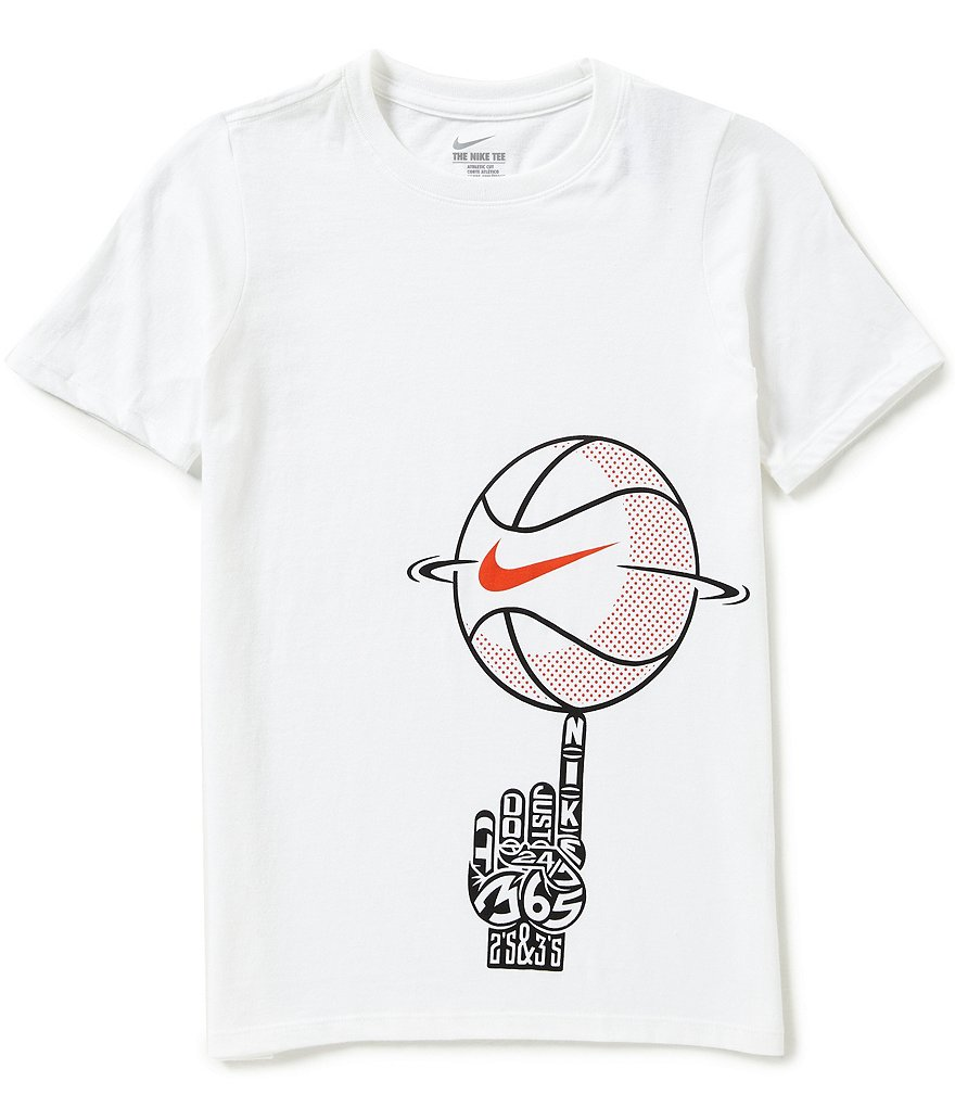 Nike Big Boys 8-20 Spinning Ball Graphic Short-Sleeve Graphic Tee