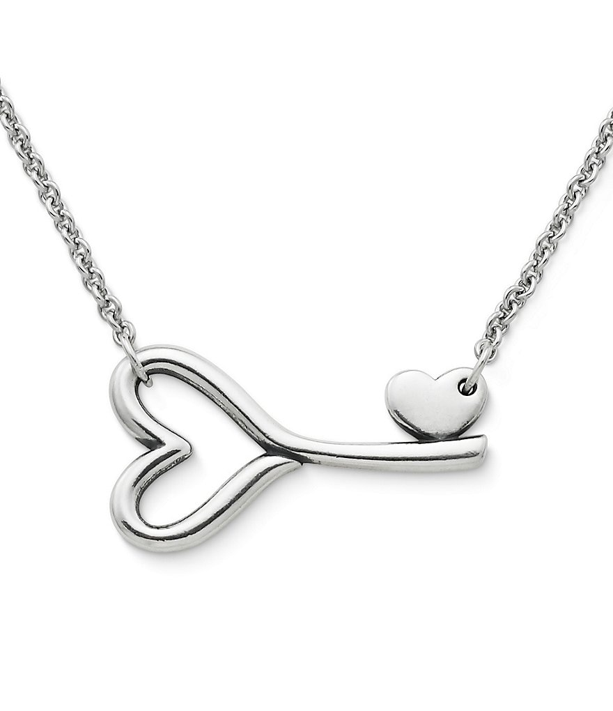James Avery Key to My Heart Necklace