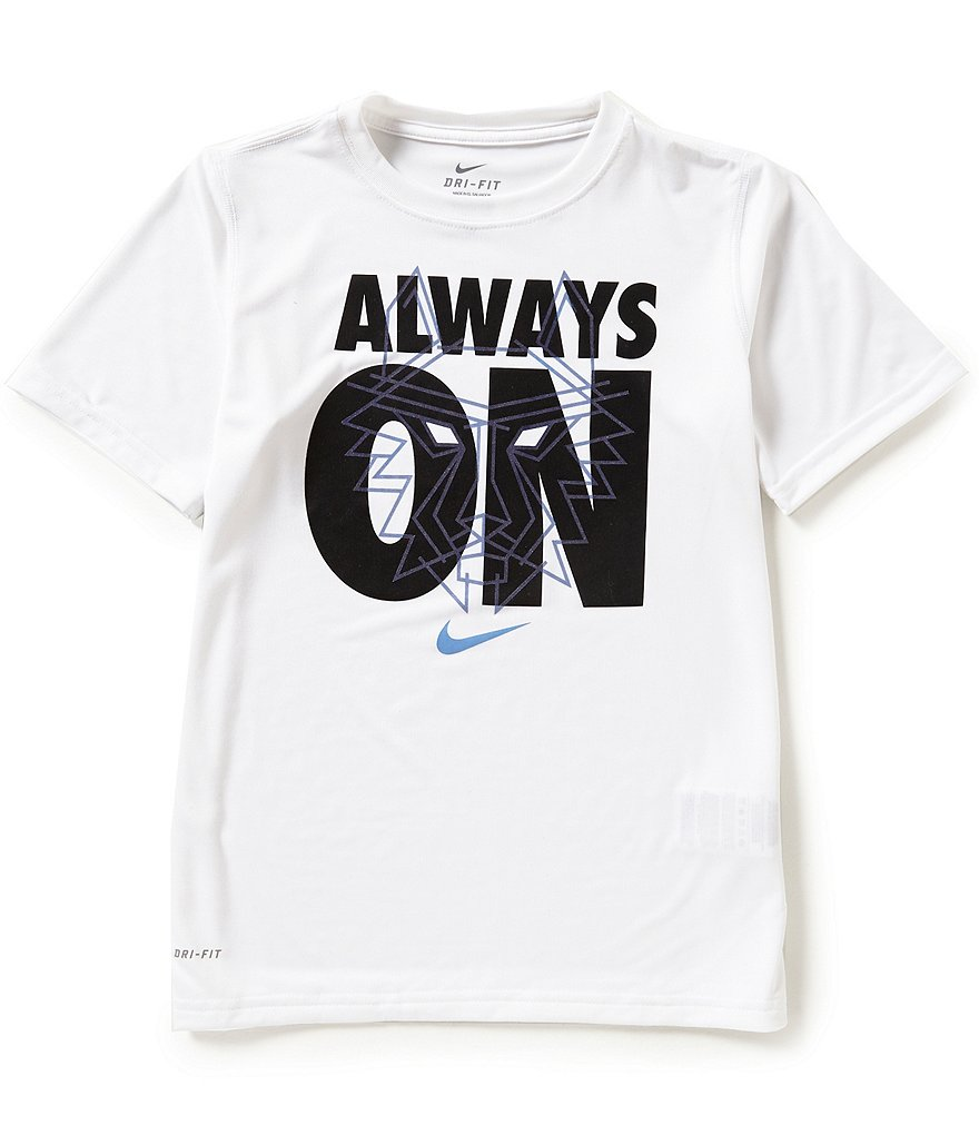 Nike Big Boys 8-20 Always On Dri-FIT Tee